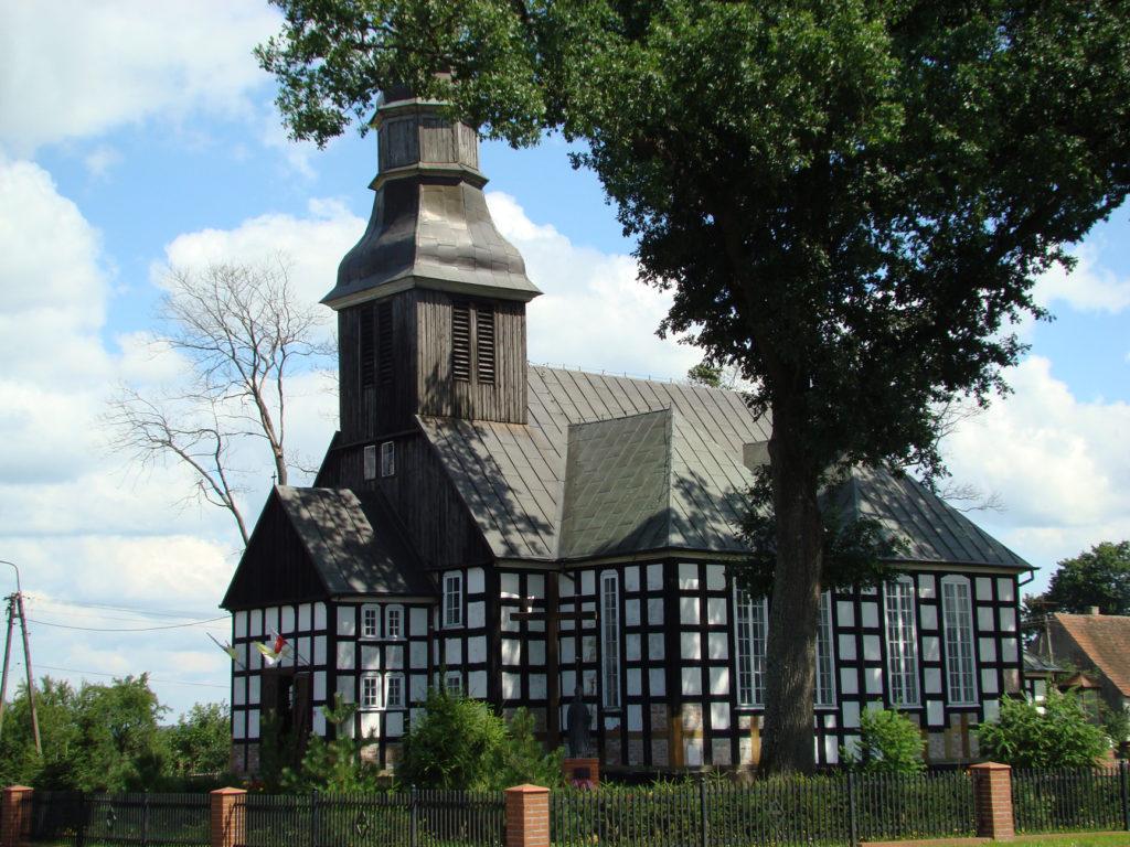 Kościół  pw. św. Wawrzyńca, Brzezie