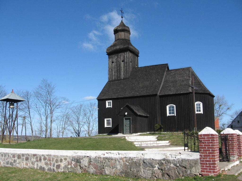 Zabytkowy kościół, Krępsk